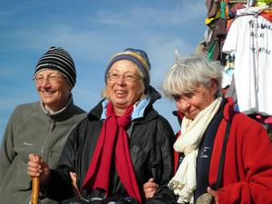 Anne-Marie et ses guides