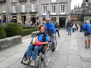 Marie-Jo et François, notre chauffeur